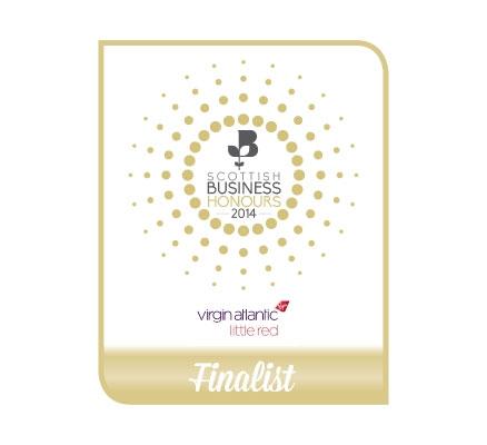 Scottish Businnes Honours 2014 Finalist
